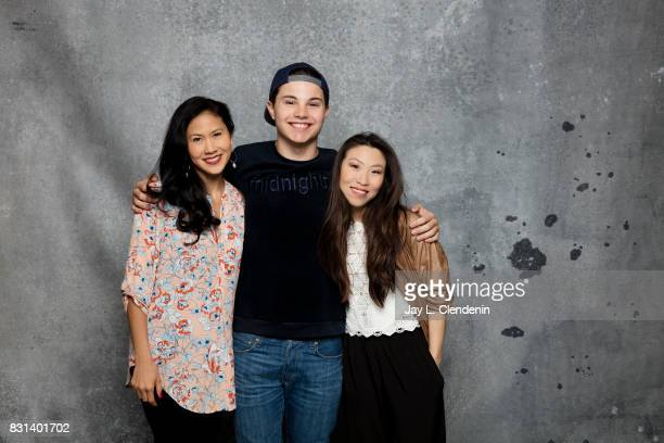 Cast of 'Steven Universe' are photographed in the LA Times photo studio at ComicCon 2017 in San Diego CA on July 22 2017 CREDIT MUST READ Jay L...