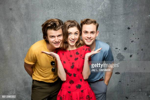 Cast of 'Stranger Things' are photographed in the LA Times photo studio at ComicCon 2017 in San Diego CA on July 22 2017 CREDIT MUST READ Jay L...