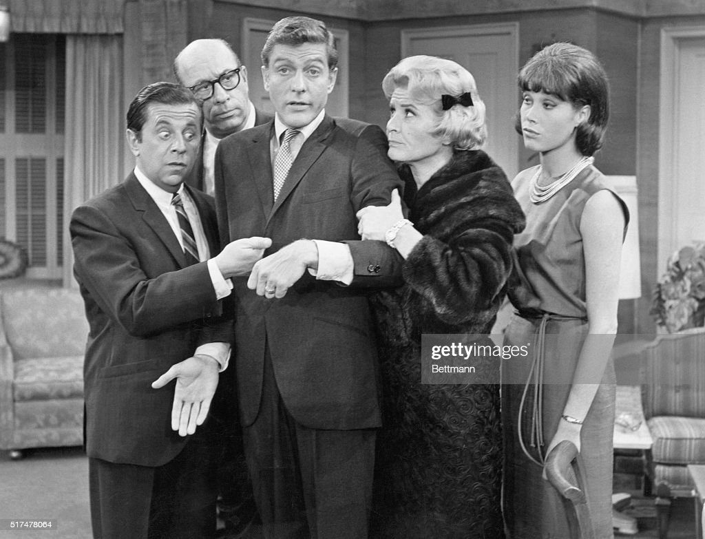 Cast of the Dick Van Dyke Show, circa 1965.