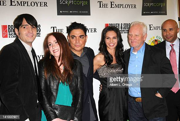 Cast of 'The Employer' arrive for 'The Employer' Los Angeles Screening held at Regent Showcase Theatre on March 6 2012 in West Hollywood California