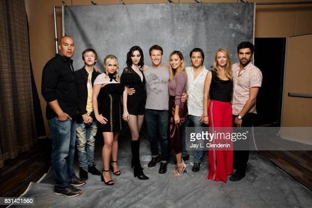Cast of 'The Gifted' are photographed in the LA Times photo studio at ComicCon 2017 in San Diego CA on July 22 2017 CREDIT MUST READ Jay L...