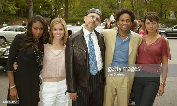 Cast of The Handler Tanya Wright Anna Belknap Joe Pantoliano Hill Harper and Lola Glaudini