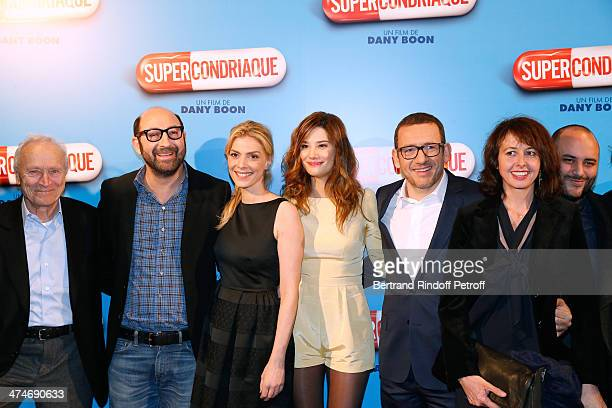 Cast of the movie producer Jerome Seydoux Kad Merad Judith El Zein Alice Pol director and actor Dany Boon Valerie Bonneton and Jerome Commandeur...