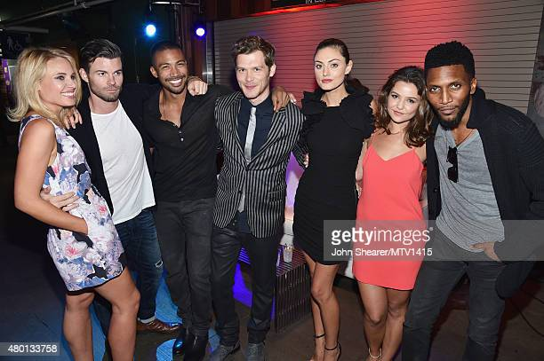 Cast of 'The Originals' Leah Pipes Daniel Gillies Charles Michael Davis Joseph Morgan Phoebe Tonkin Danielle Campbell and Yusuf Gatewood attend the...