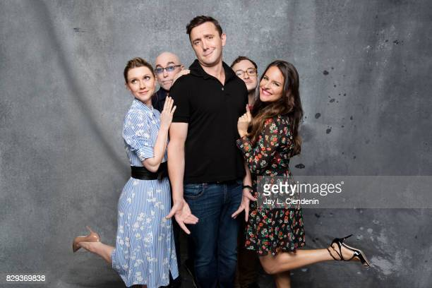 Cast of 'The Tick' are photographed in the LA Times photo studio at ComicCon 2017 in San Diego CA on July 21 2017 CREDIT MUST READ Jay L...