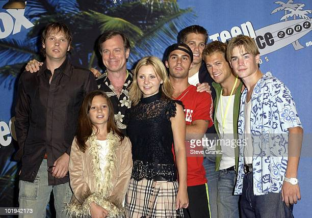 Cast of the WB's '7th Heaven'