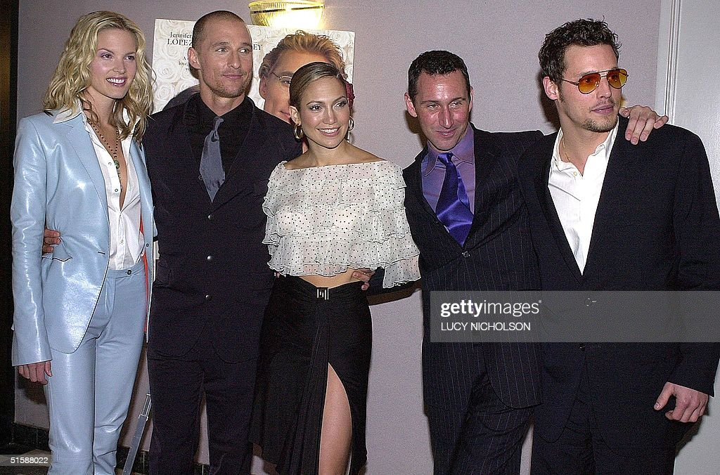 Us Cast Of The Wedding Planner Pose At Film S Premiere In Los Angeles
