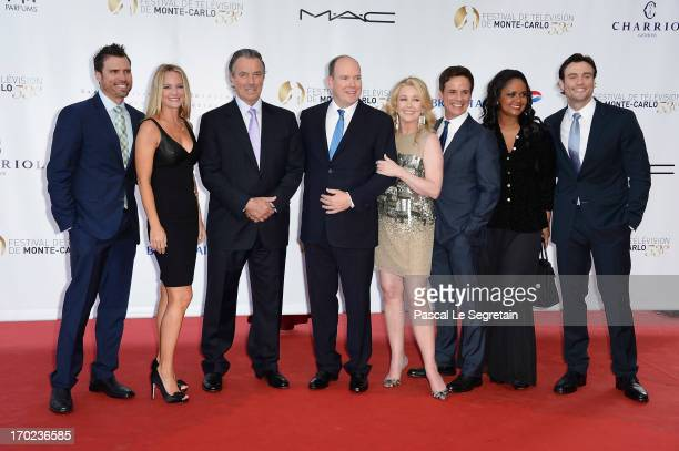 Cast of 'The Young and the Restless' Daniel Goddard Sharon Case Eric Braeden Prince Albert II of Monaco Melody Thomas Scott Christian Leblanc Tonya...