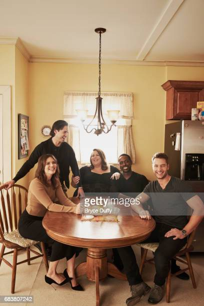 Mandy Moore Milo Ventimiglia Sterling K Brown Justin Hartley and Chrissy Metz photographed for Variety on February 12 in Los Angeles California...
