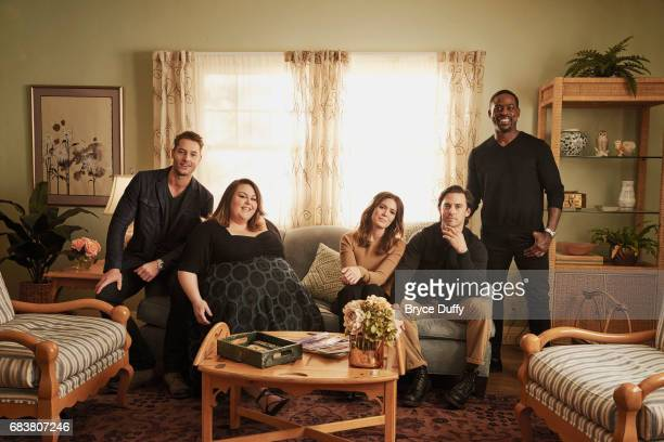 Mandy Moore Milo Ventimiglia Sterling K Brown Justin Hartley and Chrissy Metz photographed for Variety on February 12 in Los Angeles California