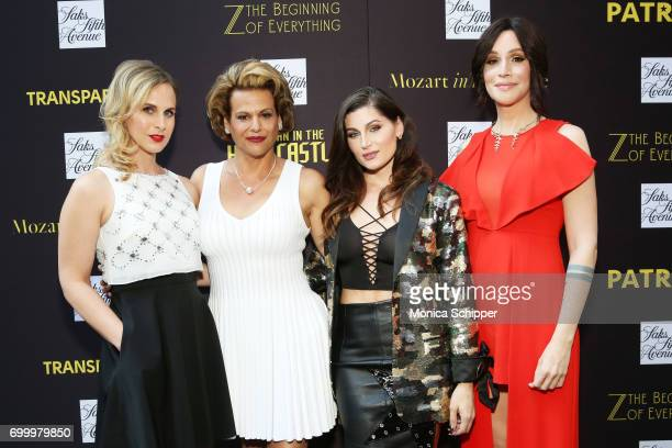 Cast of 'Transparent' actress Zackary Drucker actress Alexandra Billings actress Trace Lysette and actress Our Lady J attend as SAKS FIFTH AVENUE...