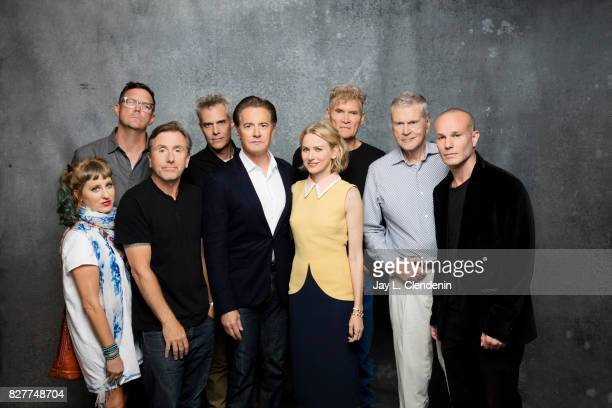 Cast of Twin Peaks are photographed in the LA Times photo studio at ComicCon 2017 in San Diego CA on July 21 2017 CREDIT MUST READ Jay L...