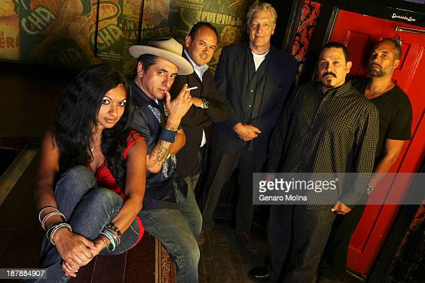 Cast of 'Water and Power' Richard Montoya Gingger Shankar Mark Roberts Clancy Brown Emilio Rivera Roger Guenveur Smith is photographed for Los...