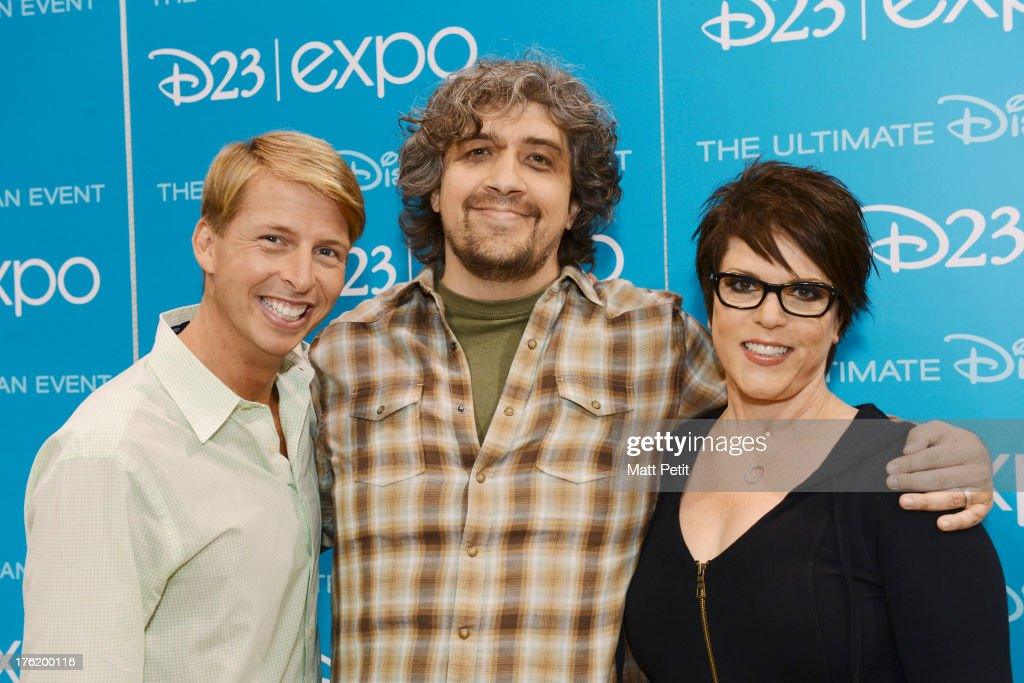 D23 EXPO Cast of Wonder Over Yonder greet fans and sign autographs at Disney's D23 Expo the ultimate event for Disney fans at the Anaheim Convention...