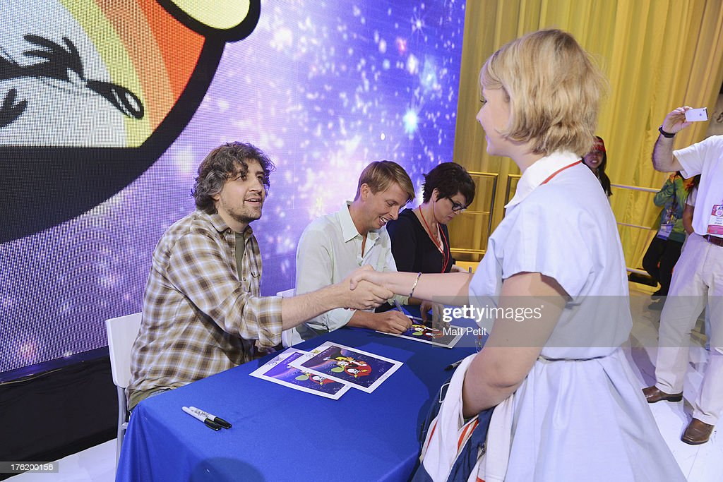 D23 EXPO - Cast of Wonder Over Yonder greet fans and sign autographs at Disney's D23 Expo, the ultimate event for Disney fans at the Anaheim Convention Center in Anaheim, California (August 9). , JACK