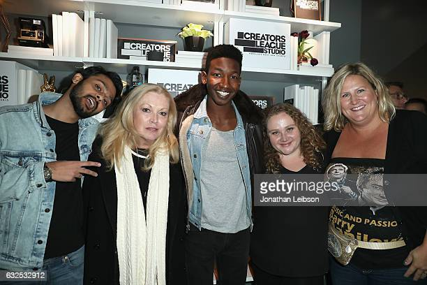 Cast Siddharth Dhananjay Cathy Moriarty Mamoudou Athie Danielle Macdonald and Bridget Everett attends the 2017 Sundance Film Festival premiere of...