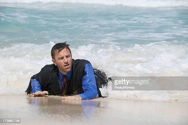 Castaway Businessman Washes Ashore