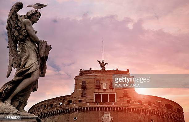Castel SantAngelo and ornate building