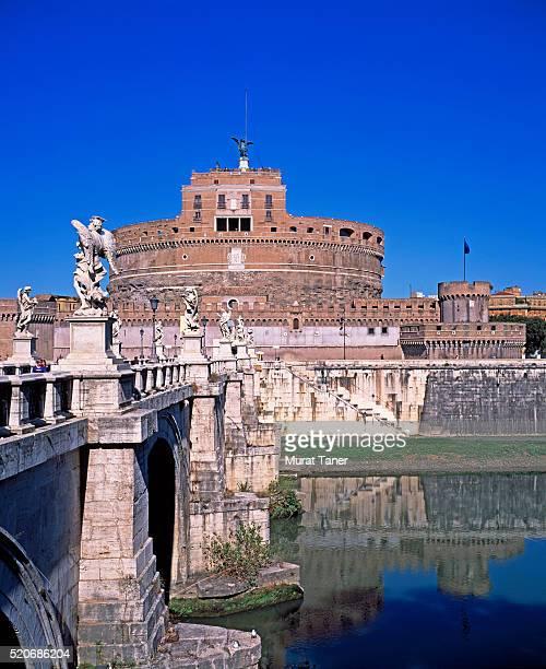 Castel Sant'Angelo and Ponte Sant'Angelo Bridge