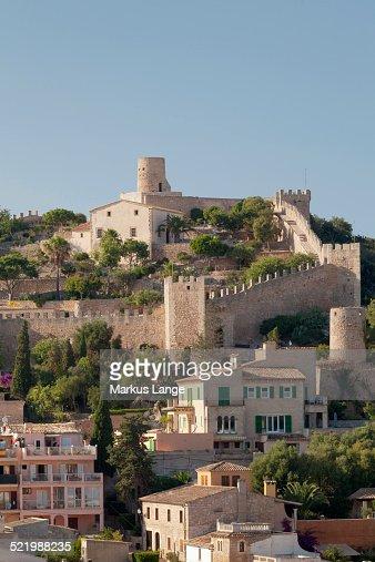 Castell De Capdepera Capdepera Majorca Balearic Islands Spain Stock Photo  G...