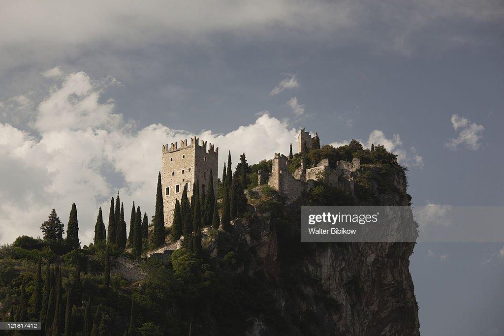 Castello di Arco castle, Arco, Lake Garda, Lake District, Trentino-Alto Adige, Italy