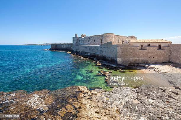 Castello Maniace, Ortigia Siragusa, Sicilia, Italia