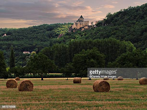 Castelnaud Castle village of Castelnaud-la-Chapelle Dordogne Aquitaine France Europe