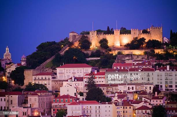 Castelo de São Jorge, em Lisboa, Portugal