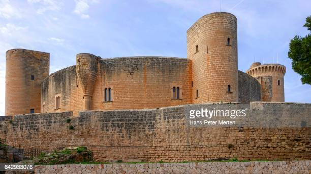 Castillo de Bellver in Palma de Mallorca, Majorca, Balearic Islands, Spain