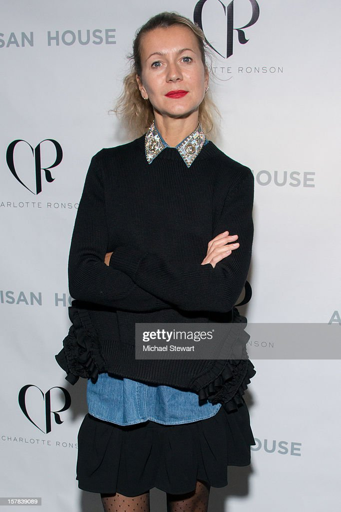 Casting agent Natalie Joos attends Charlotte Ronson And Artisan House Handbag Launch Event at Toy Restaurant on December 6, 2012 in New York City.