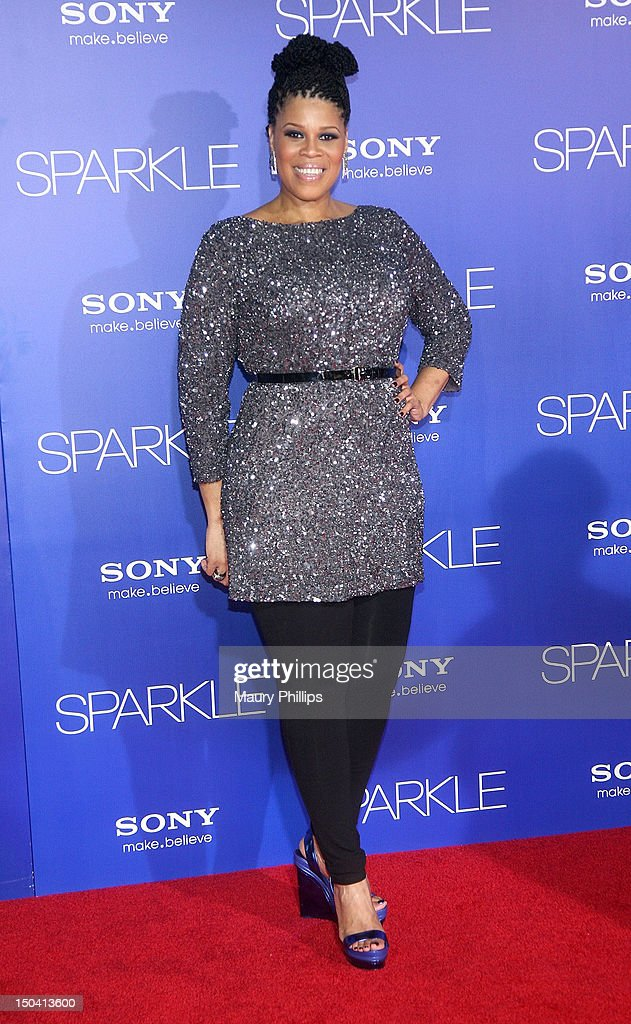 Casting agent Twinkie Byrd arrives at the Los Angeles Premiere of 'Sparkle' at Grauman's Chinese Theatre on August 16, 2012 in Hollywood, California.