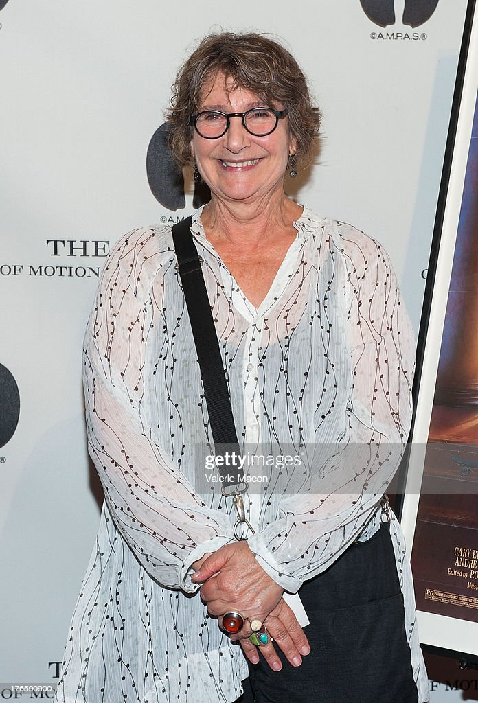Casting director Jane Jenkins attends the Academy Of Motion Picture Arts And Sciences' Presents 'The Princess Bride' With Live Commentary Onstage at AMPAS Samuel Goldwyn Theater on August 15, 2013 in Beverly Hills, California.