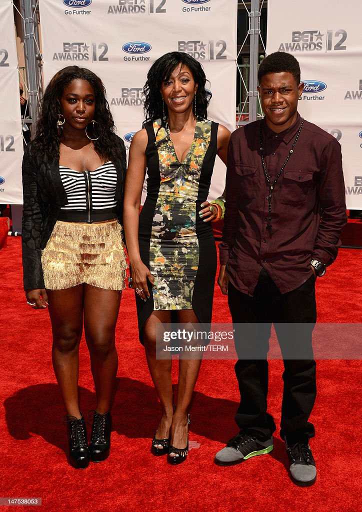 Casting Director Robi ReedHumes arrives at the 2012 BET Awards at The Shrine Auditorium on July 1 2012 in Los Angeles California