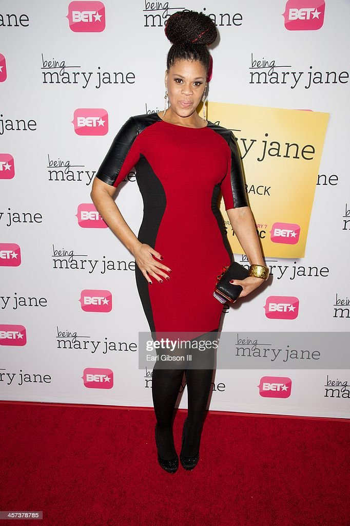 Casting director Tracy 'Twinkie' Byrd attends BET's New Series 'Being Mary Jane' Los Angeles Premiere on December 16, 2013 in Los Angeles, California.