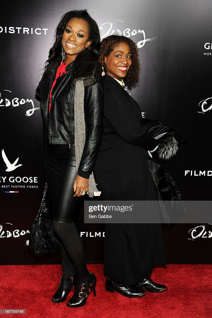Casting directors Nadiyah Skyy (L) and Karen Livers attend the screening of 'Oldboy' hosted by FilmDistrict and Complex Media with the Cinema Society and Grey Goose at AMC Lincoln Square Theater on November 11, 2013 in New York City.