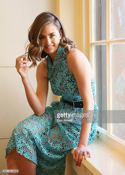 Casting judge Jesinta Campbell poses at the David Jones Spring/Summer Fashion Launch Model Casting on July 8 2015 in Sydney Australia