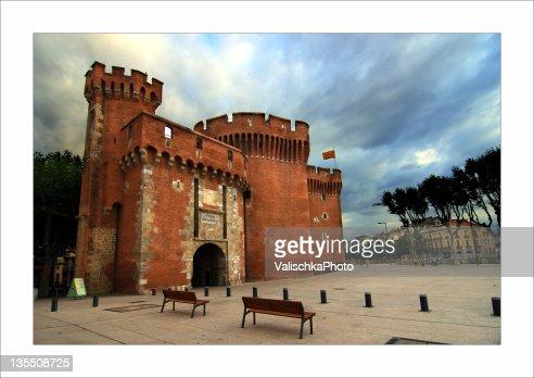 Castle at Perpignan