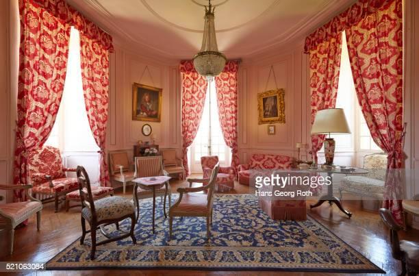 Castle Bazoche-du-Morvan, small lounge