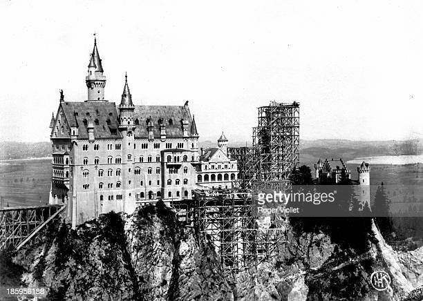 Castle built by King Ludwig II of Bavaria Neuschwanstein