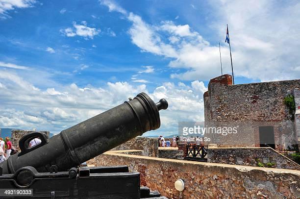 CONTENT] Castle de San Pedro de la Roca or castle el Morro is a fortress on the coast of Santiago de Cuba it overlooks the bay The fortress is...