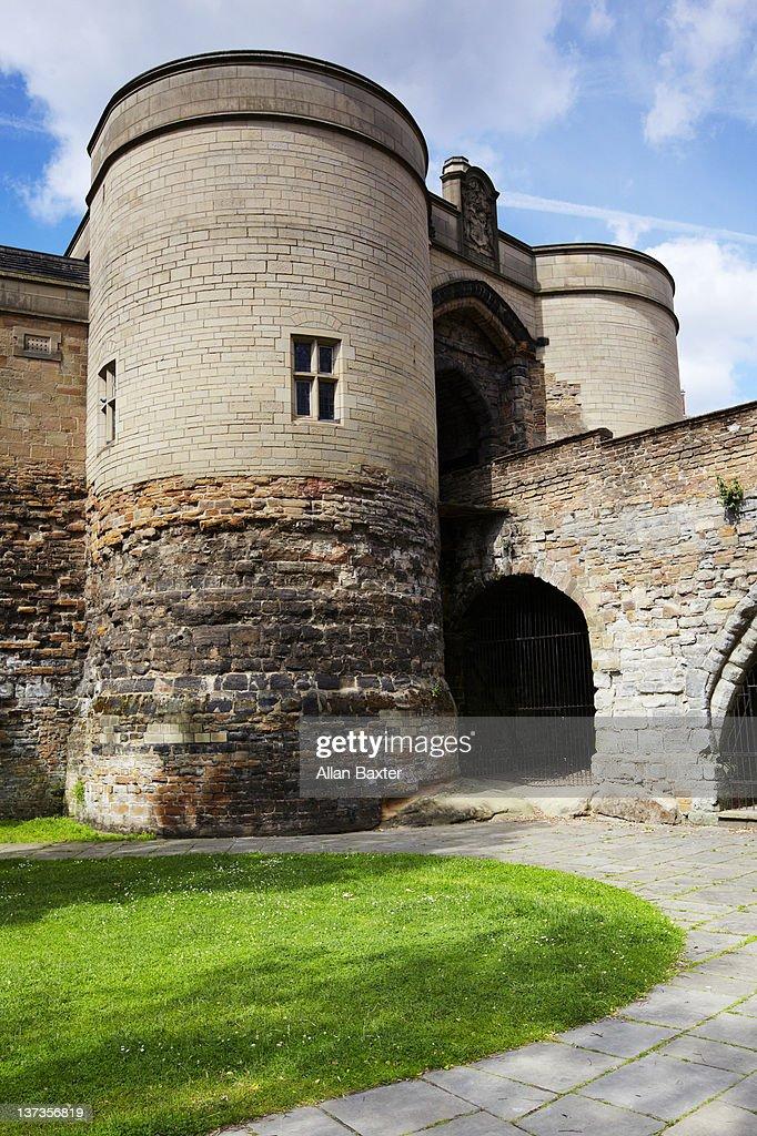 Castle Gate House : Stock Photo