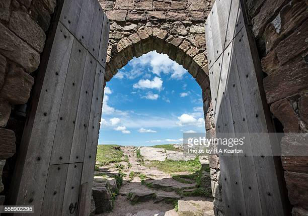 Castle gateway, Beeston, Cheshire