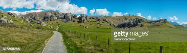 Castle Hill Arthur's Pass New Zealand South Island
