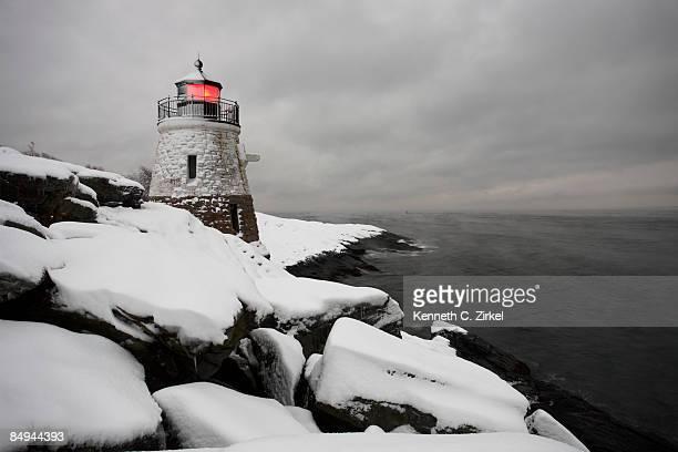 Castle Hill in snow