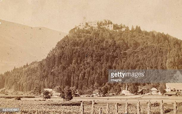 Castle Landskron 1885 Photograph by Alois Beer / Klagenfurt