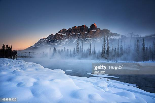 Castle Mountain Winter
