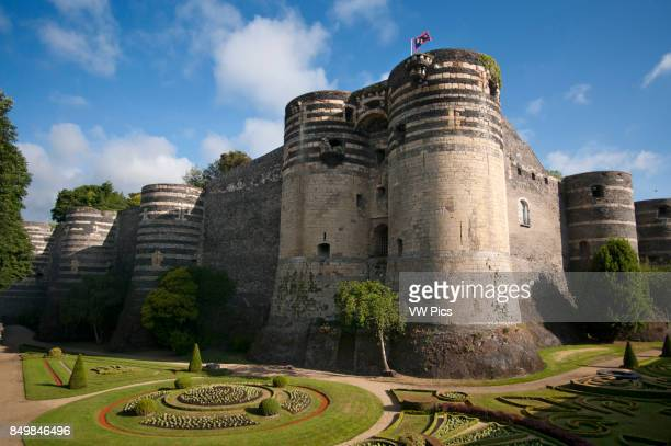 Castle of Angers in the city of Angers in the Maine et Loire Valley region of France