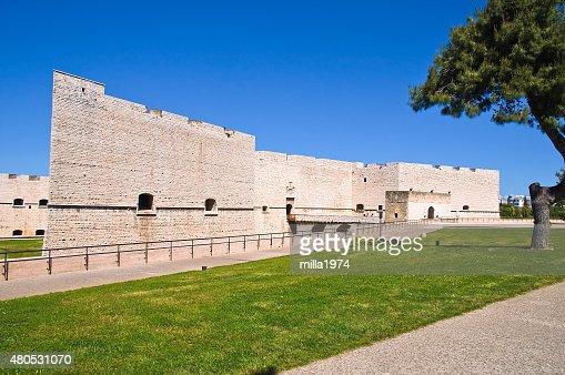 Burg Barletta. Apulien. Italien. : Stock-Foto