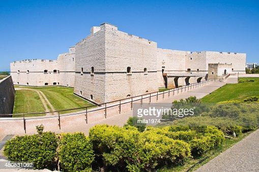 Castle of Barletta. Puglia. Italy. : Stock Photo