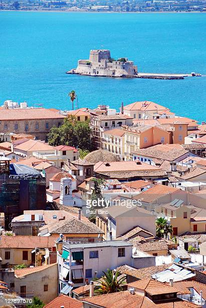 Castle of Bourtzi  Harbour of Nafplio